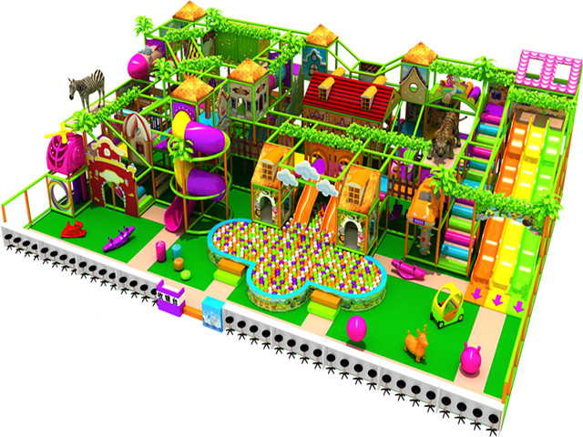 Jungle indoor playground