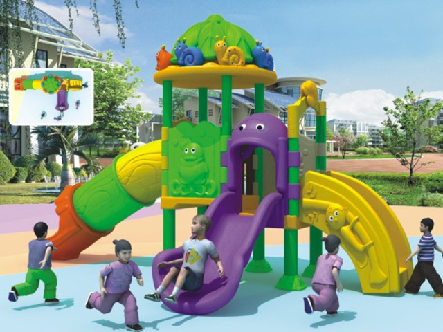 Commercial Outdoor Playground