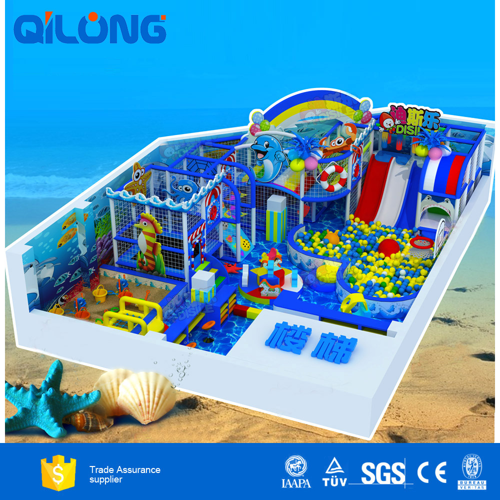 Children Indoor Playground Big Slides For Sale