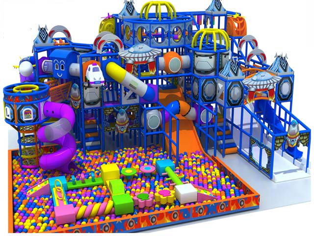 Family entertainment center indoor playground belong to Space theme ...