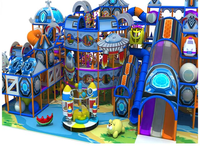New Arrival plastic indoor playground equipment plastic helicopter house