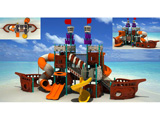 Plastic Outdoor Playground Pirate Ship