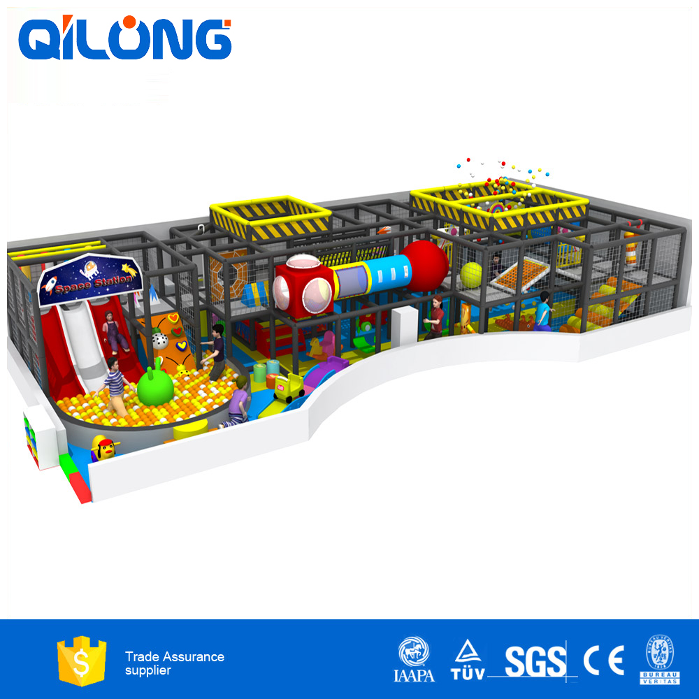 Colorful kids indoor playground