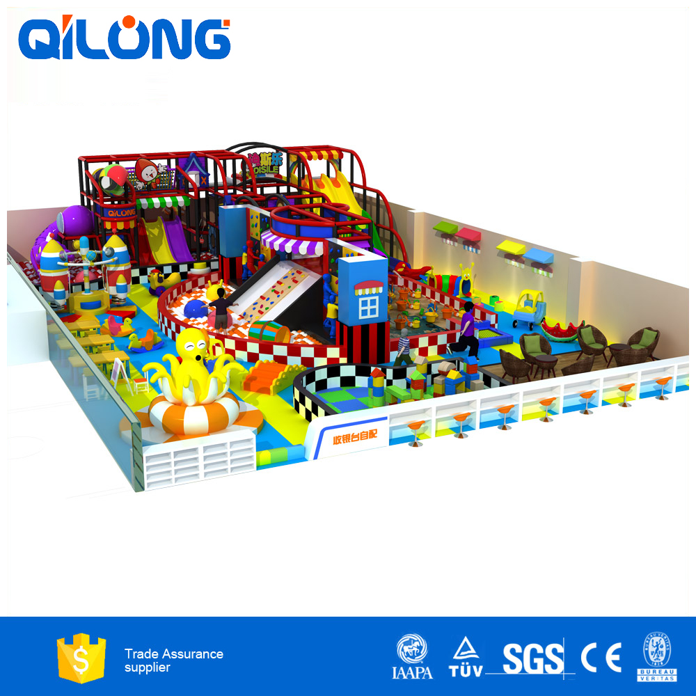 Exciting Indoor Playground