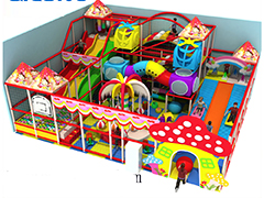 indoor playground candy theme for kids