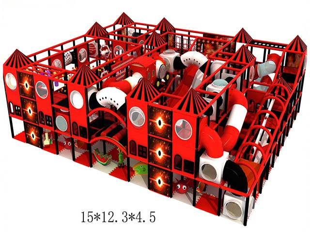 QL-7072A indoor playground for toddlers