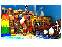 QL-7039A Pirate ship indoor playground miami