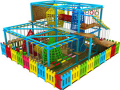 rope course indoor playground