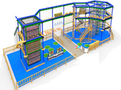 rope course kids indoor playground