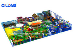 QL-7129A playground equipments artificial tree