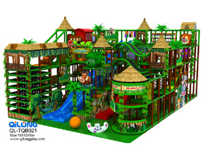 Factory price new naughty castle series cartoon theme playground sets