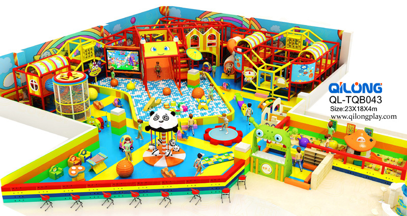 2018 New Style Children Indoor Playground Equipment