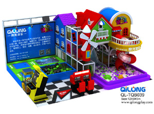 QL-TQB039 city indoor playground