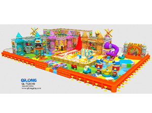 Children Soft Play Playground Equipment Play Station
