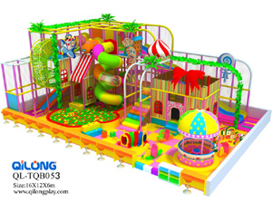 Children Commercial candy playground indoor playground sports