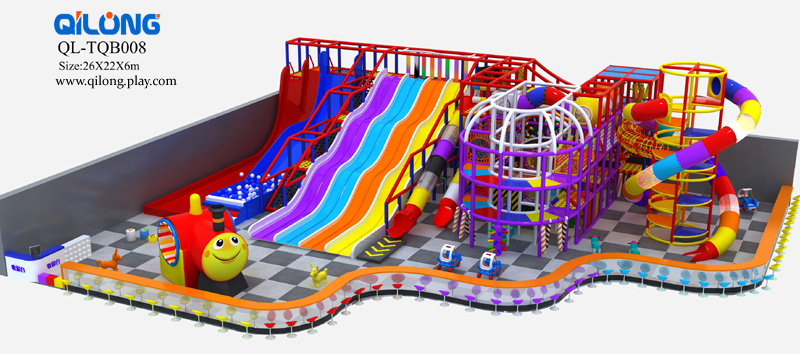 Children Commercial Playground Rotomolding Equipment Used Indoor Playground