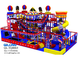 China Manufacturer Amusement Soft Used Commercial Children Indoor Game Park