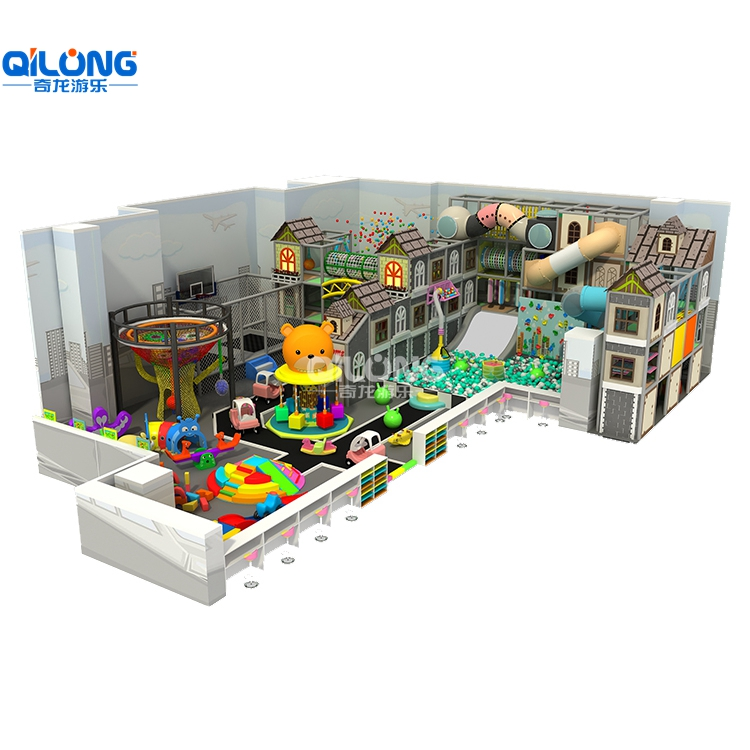 2019 Popular soft indoor playground equipment prices sale with 239sqm