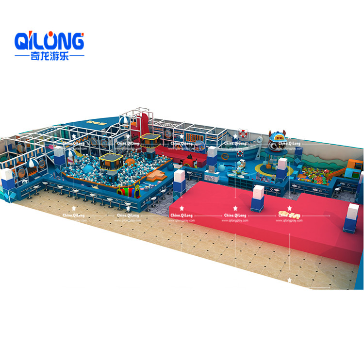 QL-TQB231 indoor playground with ball pool prices
