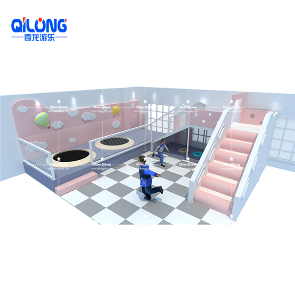 QL-TQB215 indoor playground with ball pool for kids soft playground equipment prices