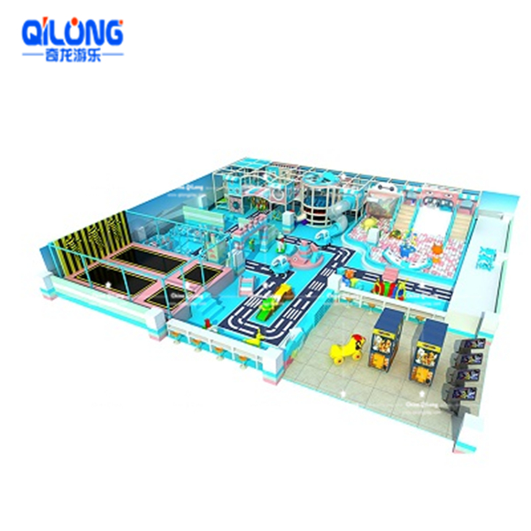 QL-TQB224  indoor playground prices