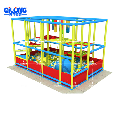 QL-TQB217 indoor soft playground with ball pool Prices
