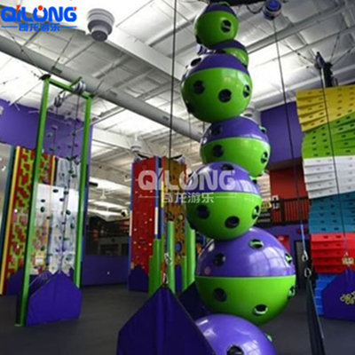 New climbing wall, very popular