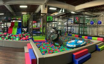 New Jersey indoor playground and trampoline park combination   800㎡