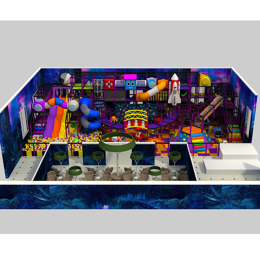 space theme soft play