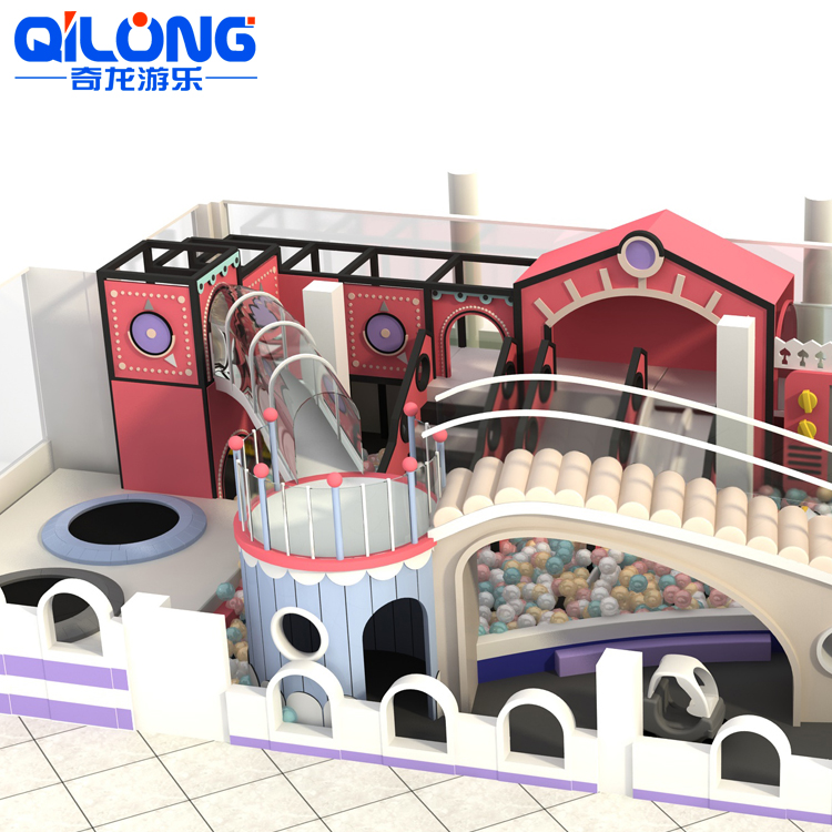 2020 Newest Dreamy Cake Theme Soft Toddler Indoor Playground Kids Indoor Soft Play Area