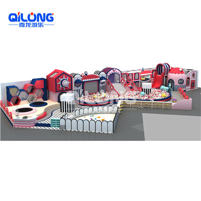 Indoor kids play with ball pool playground equipmment